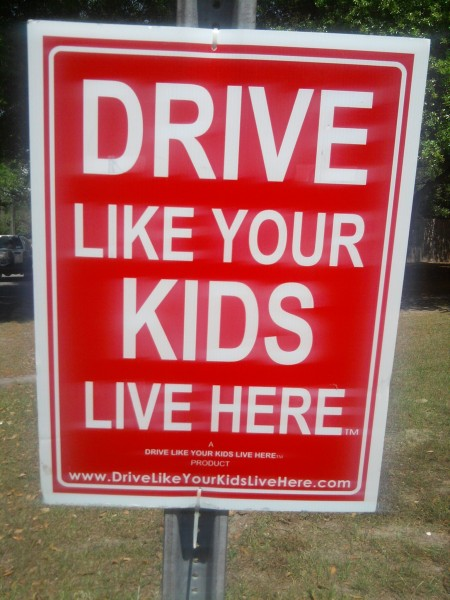 drivelike your kids live here