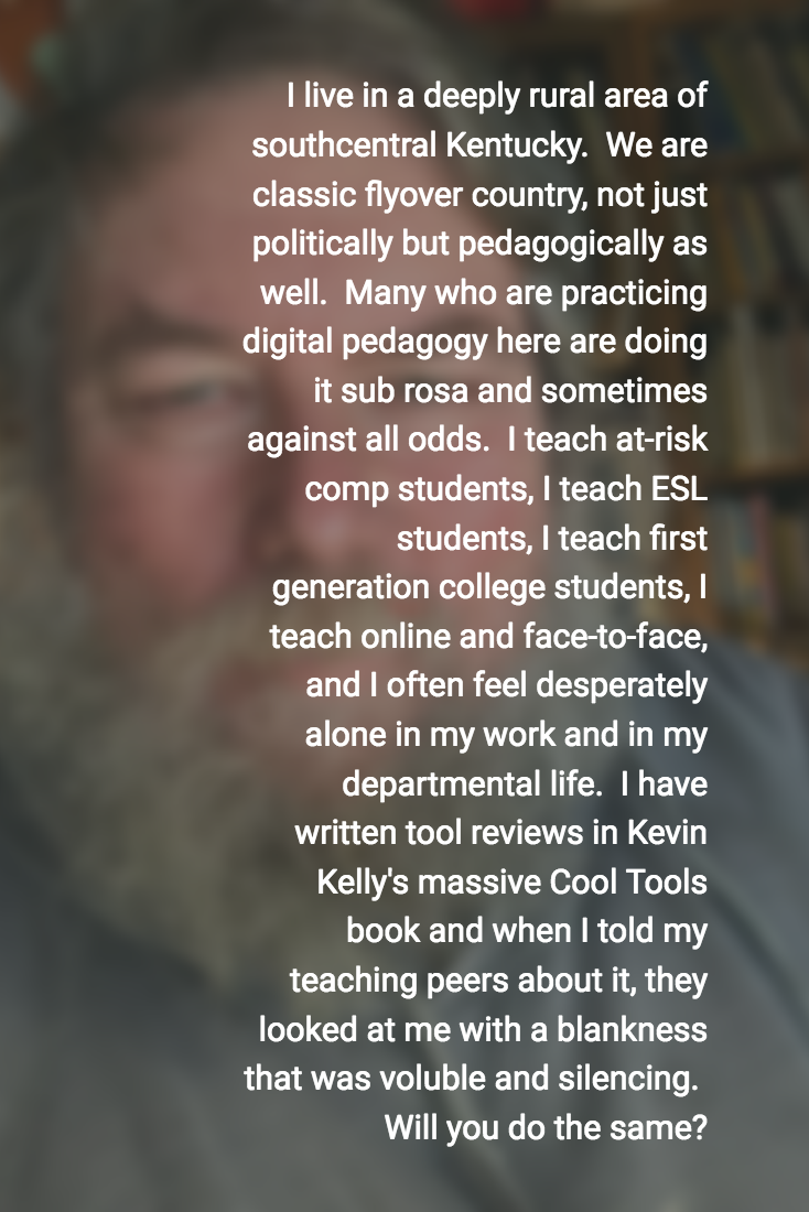 Applying to Be a Digital Pedagogue. Will I Be a Binary Fellow?