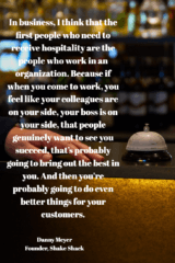 Hospitality and Learning:  A Useful Mental and Ethical Model